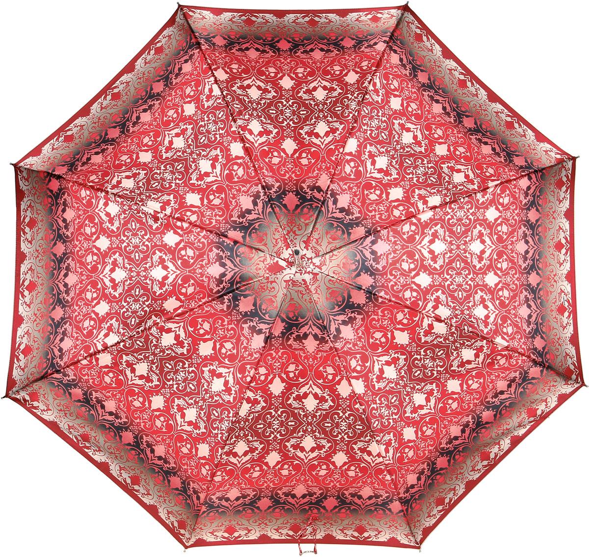 Зонт-трость женский Doppler, цвет: красный. 714765L зонт женский трость спас медный всадник 106см