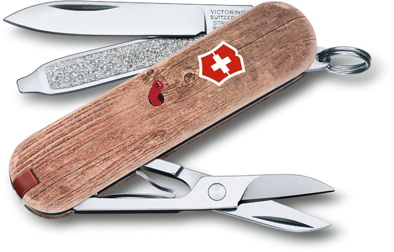 """Нож-брелок Victorinox """"Classic. Woodworm"""", длина 5,8 см"""