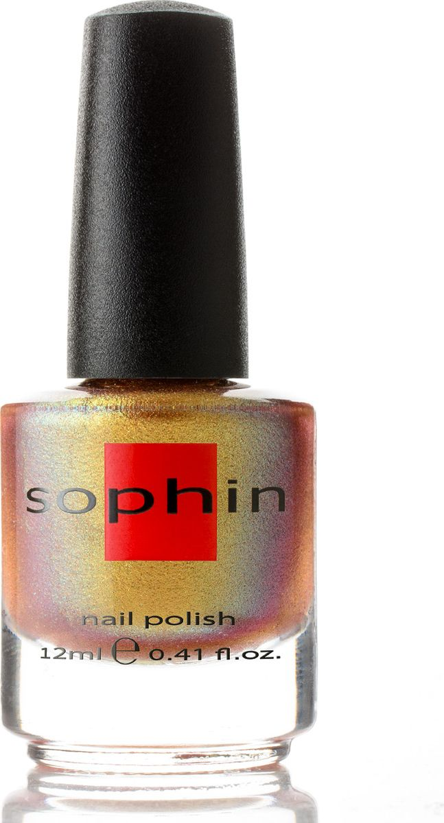 цены Sophin Лак для ногтей Chrom And Chromatic тон 0333, 12 мл