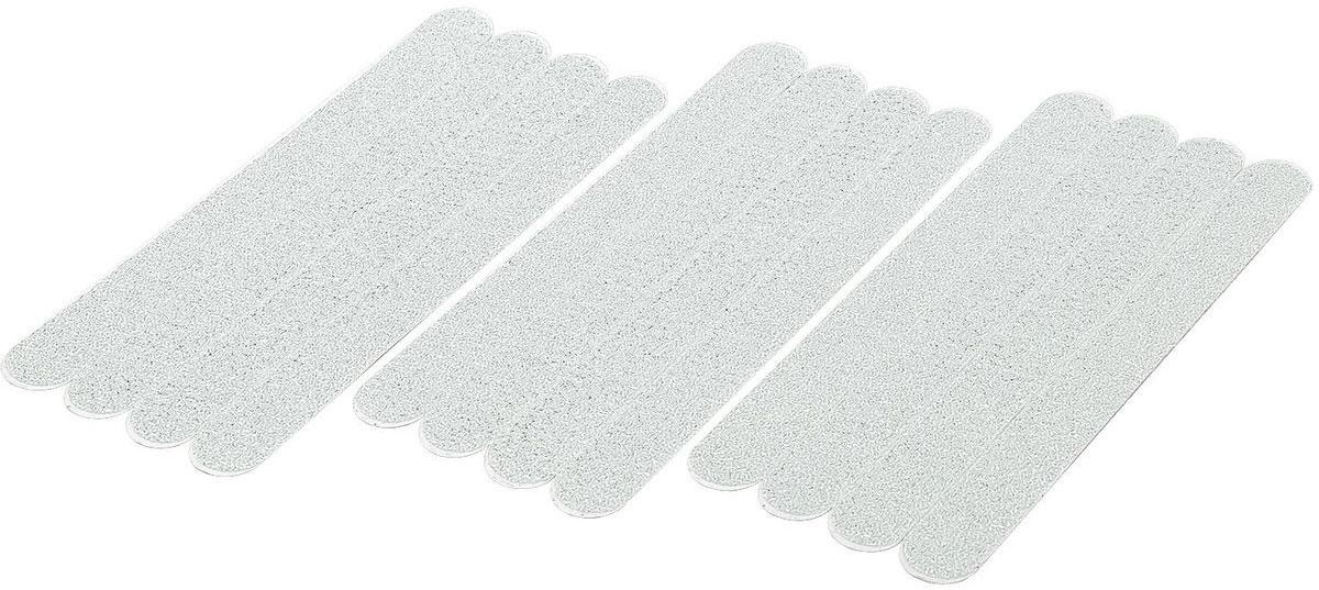 цена на Наклейки для ванной Tatkraft Keep, противоскользящие, цвет: белый, 12 шт