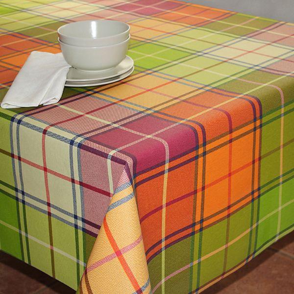 """Скатерть Protec Textil """"Alba. Кантри"""", прямоугольная, цвет: зеленый, 120 х 140 см"""