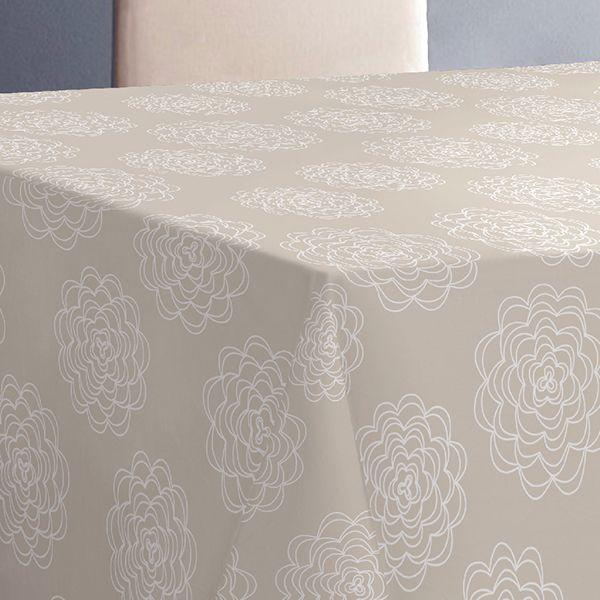 """Скатерть Protec Textil """"Alba. Белла"""", цвет: бежевый, 140 х 220 см"""