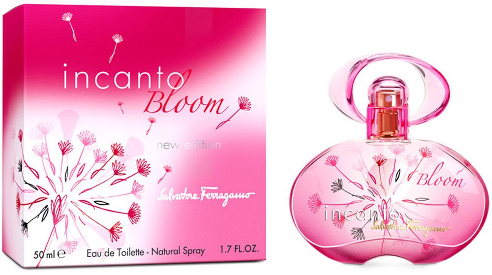 Salvatore Ferragamo Incanto Bloom new Туалетная вода женская, 50 мл недорго, оригинальная цена