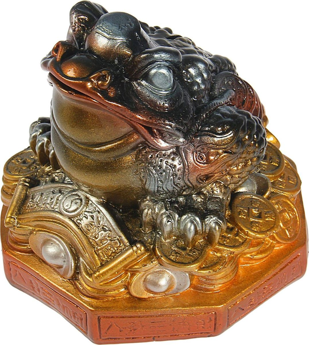 Копилка Premium Gips Денежная жаба, 17 х 17 х 18 см копилка premium gips денежная жаба 17 см х 19 см х 17 см