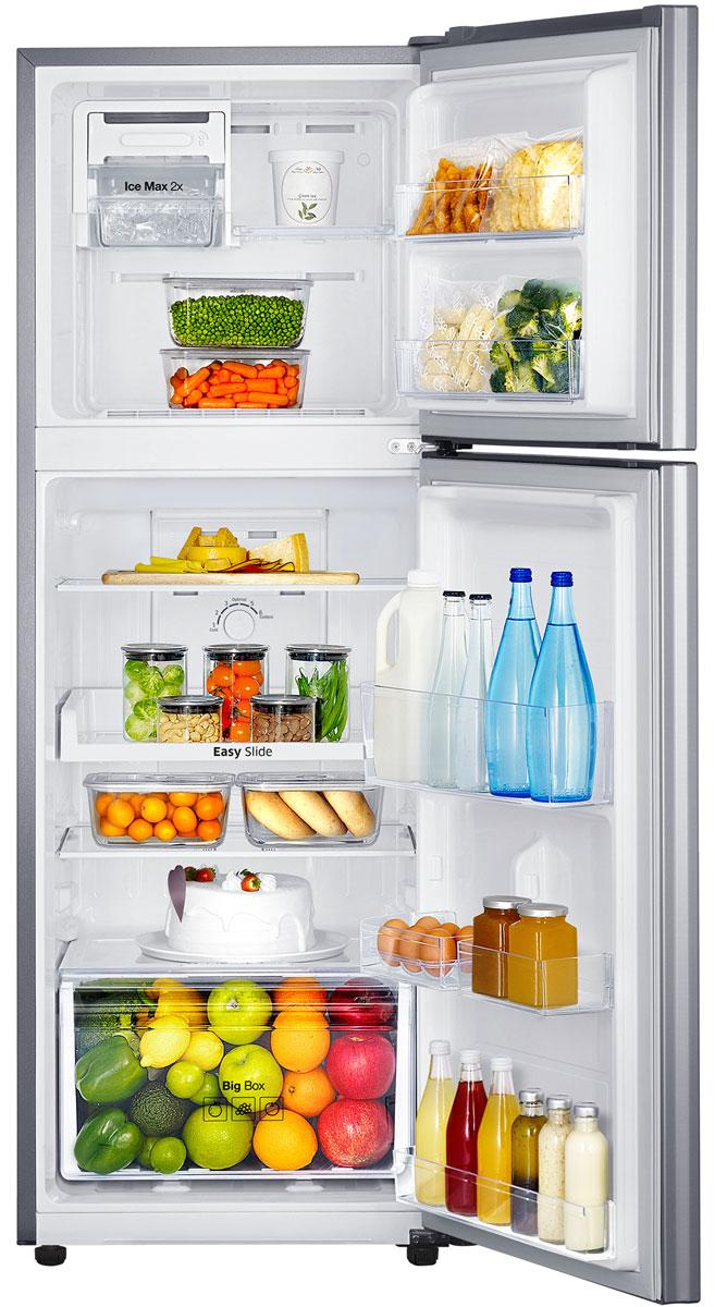 Двухкамерный холодильник Samsung RT-22 HAR4DSA/WT, серебристый Samsung