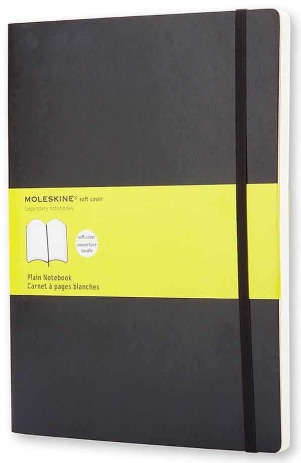 Moleskine Записная книжка Classic Soft Хlarge 96 листов без разметки цвет черный