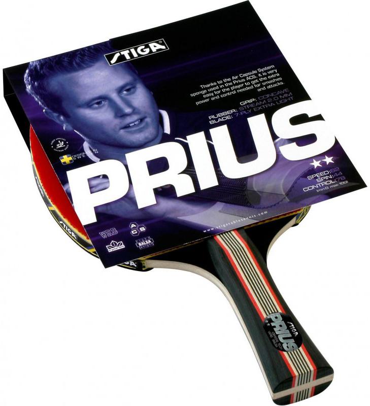Ракетка для настольного тенниса Stiga Prius Crystal ракетка для настольного тенниса stiga octane 1 1211 3216 01