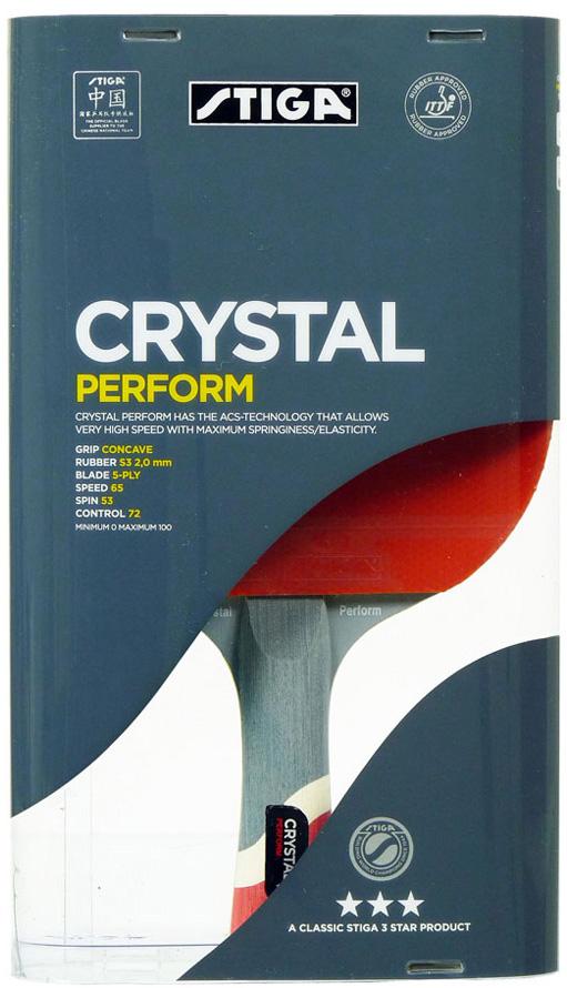 Ракетка для настольного тенниса Stiga Crystal Perform WRB ракетка для настольного тенниса stiga octane 1 1211 3216 01