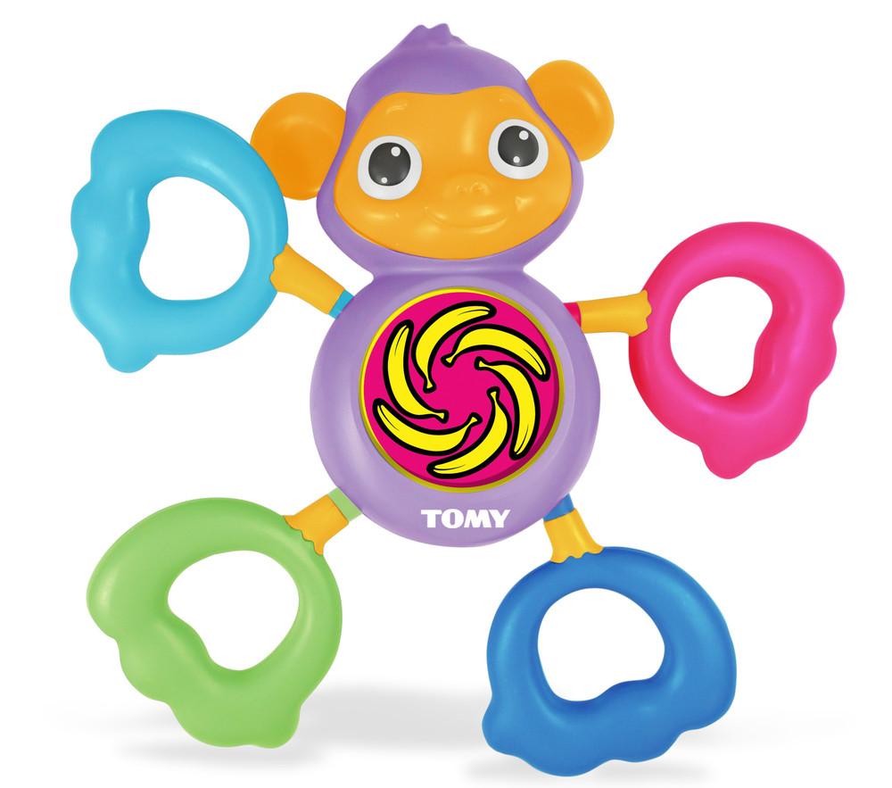 Tomy Развивающая игрушка Музыкальная обезьянка tomy развивающая игрушка веселый страус