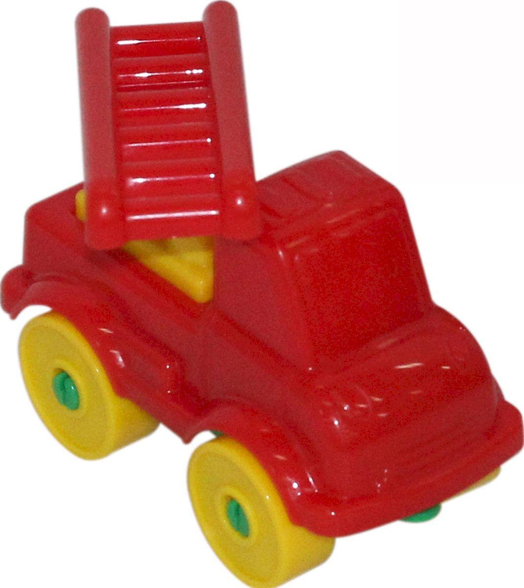 Полесье Конструктор Юный путешественник Пожарный автомобиль, цвет в ассортименте конструктор полесье юный путешественник вертолёт 11 дет 55361