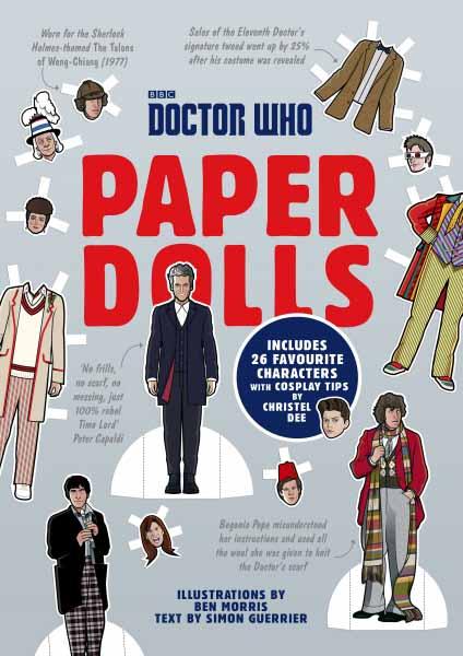 Doctor Who Paper Dolls цена