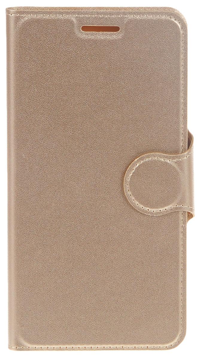 Red Line Book Type чехол для Meizu M5, Gold чехол для meizu m5 gecko flip белый