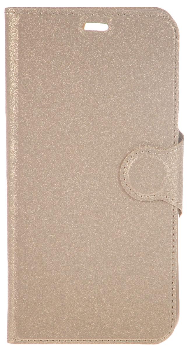 Red Line Book Type чехол для Huawei Honor 8, Gold