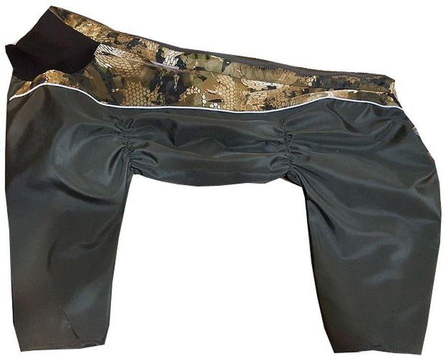 Комбинезон для собак OSSO Fashion, утепленный, девочки, цвет: хаки. Размер: 50