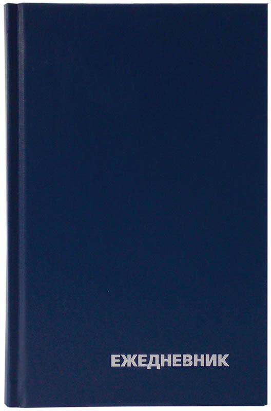 OfficeSpace Ежедневник недатированный 160 листов в линейку цвет синий формат A5 maestro de tiempo ежедневник estilo недатированный 288 листов цвет голубой формат a5