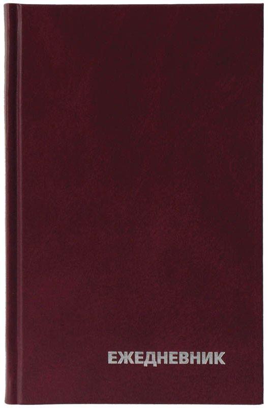 OfficeSpace Ежедневник недатированный 160 листов в линейку цвет бордовый формат A5 maestro de tiempo ежедневник estilo недатированный 288 листов цвет голубой формат a5