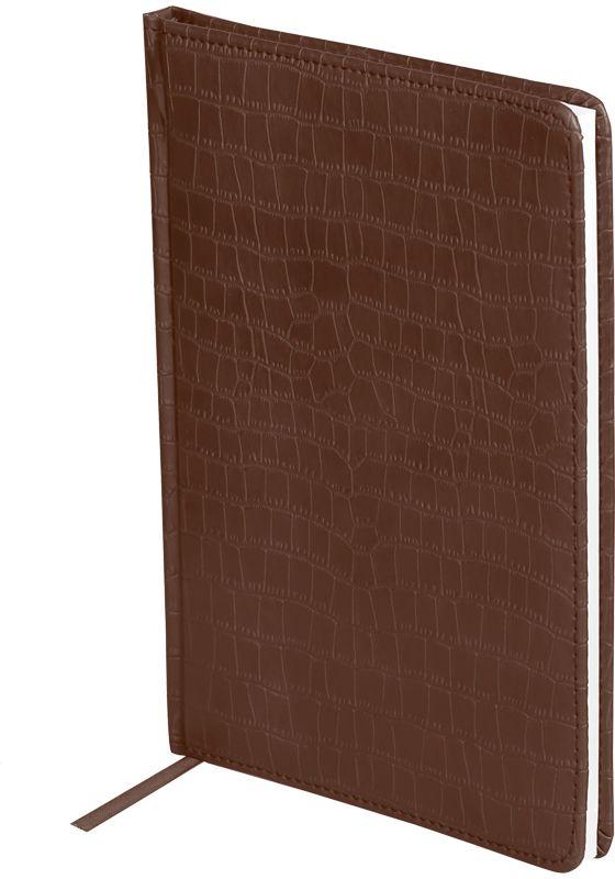 OfficeSpace Ежедневник Croco недатированный 160 листов цвет коричневый формат A5 officespace ежедневник croco недатированный 160 листов цвет черный формат a6