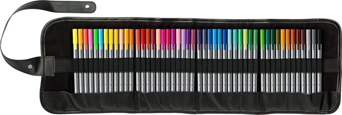 Staedtler Набор капиллярных ручек Triplus 334 Яркие цвета 48 цветов набор шариковых ручек staedtler triplus ball яркие цвета 437msb4 0 5 мм 4 цвета