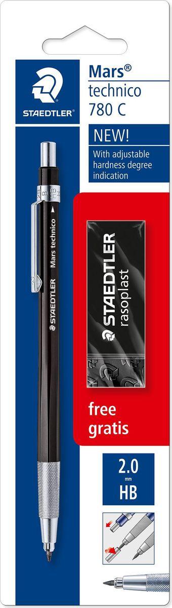 Staedtler Карандаш механический Mars 780 HB с ластиком