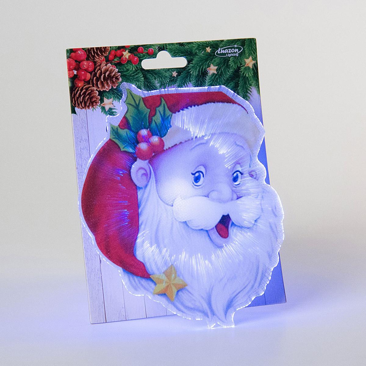 "Картинка световая Luazon ""Дед Мороз"", на магните"