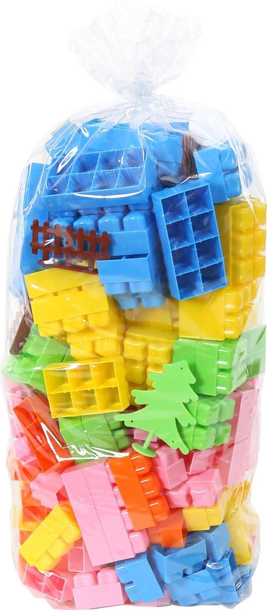 Полесье Конструктор Малютка 4465, цвет в ассортименте автомобиль пластмастер малютка зефирки цвет в ассортименте 31172