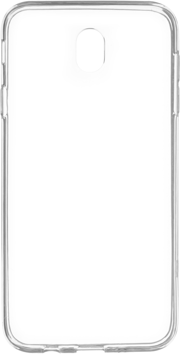 Red Line iBox Crystal чехол для Samsung Galaxy J7 (2017), Transparent аксессуар чехол ibox crystal для samsung galaxy j7 2017 transparent