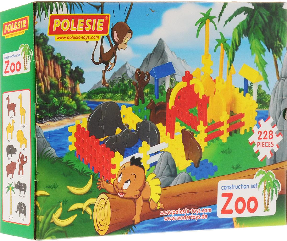 Полесье Конструктор Зоопарк 4802, цвет в ассортименте