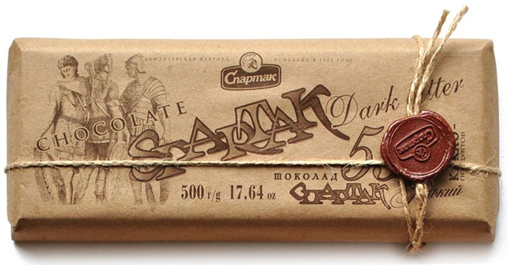 Спартак шоколад горький 56%, 500 г спартак шоколад молочный 500 г