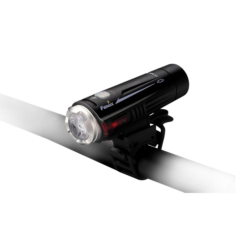Фонарь велосипедный Fenix BC21, цвет: черный