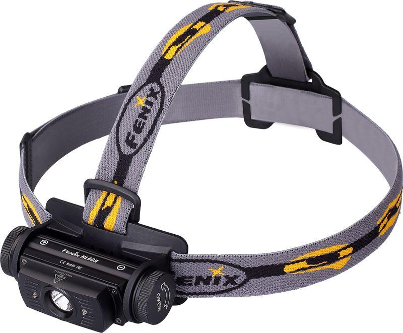 Фонарь налобный Fenix HL60RU2, цвет: черный nitecore mh10 1000 lumens cree xm l2 u2 led flashlight throw 232 meters waterproof light flashlight by 18650 battery