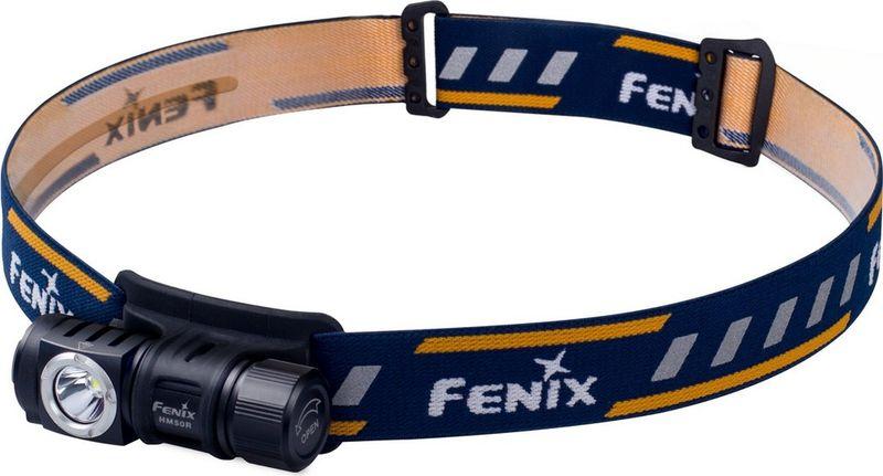 Фонарь налобный Fenix, цвет: черный. HM50R