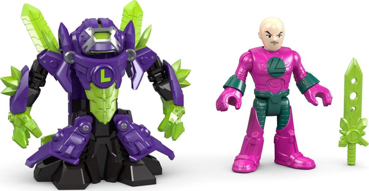 Imaginext Фигурка DC Super Friends Боевые трансформеры Lex Luthor imaginext игровой набор dc super friends feature villain