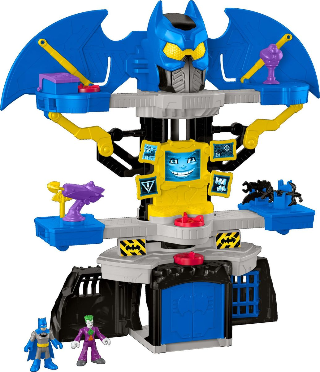 Imaginext Игровой набор DC Super Friends Transforming Batcave