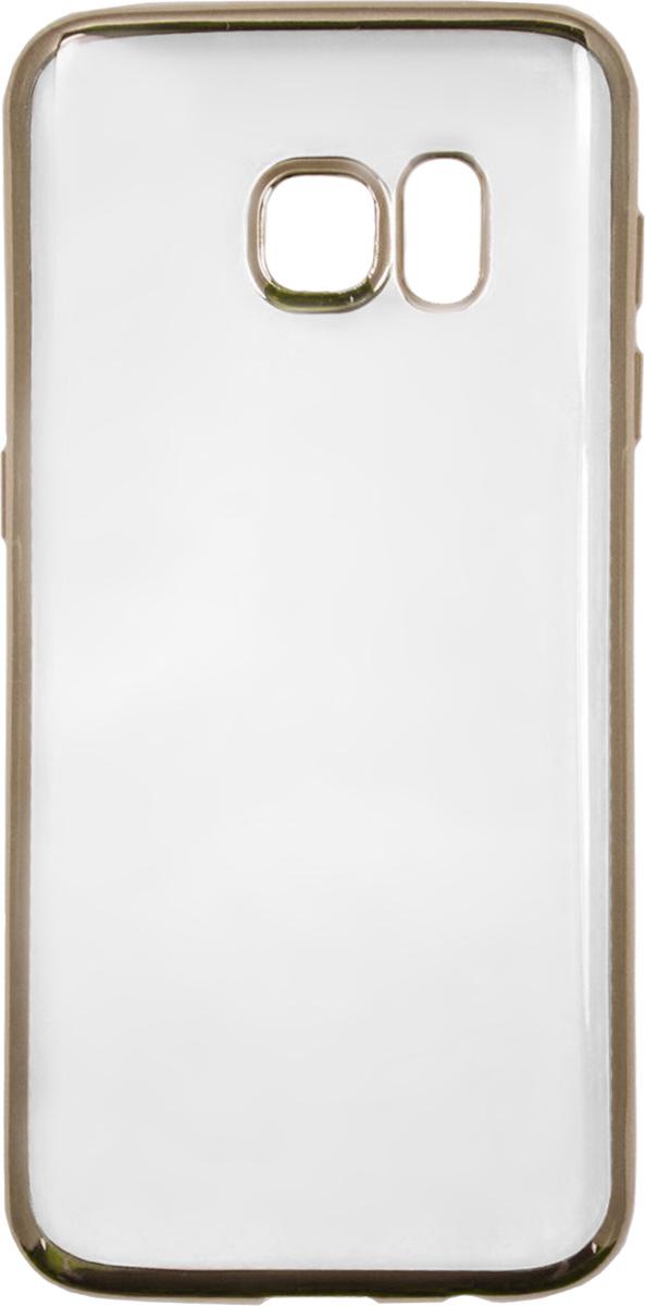 купить Red Line iBox Blaze чехол для Samsung Galaxy S7 Edge, Gold онлайн