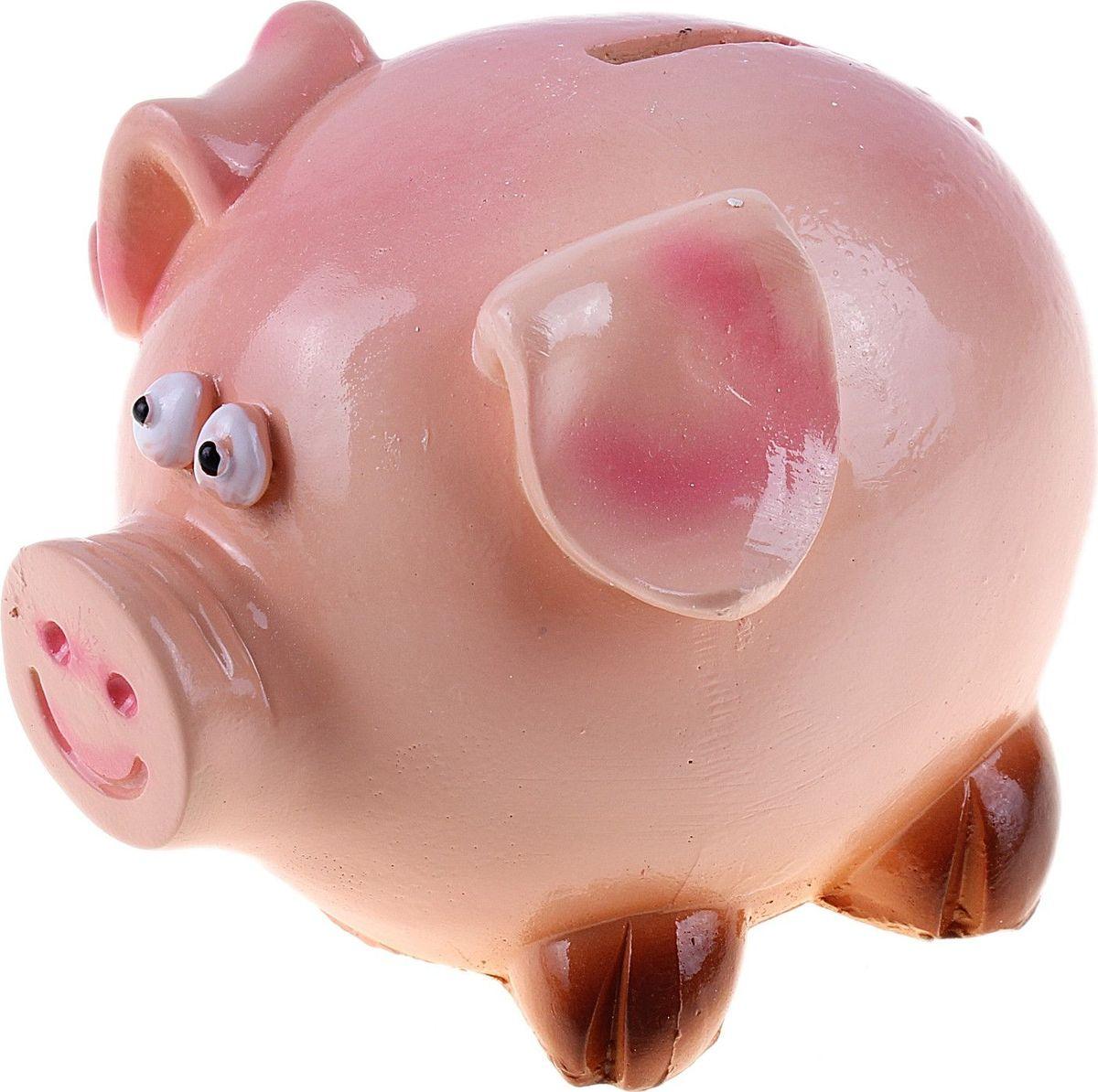 """Копилка """"Свинка"""", 11 х 10 х 9 см"""