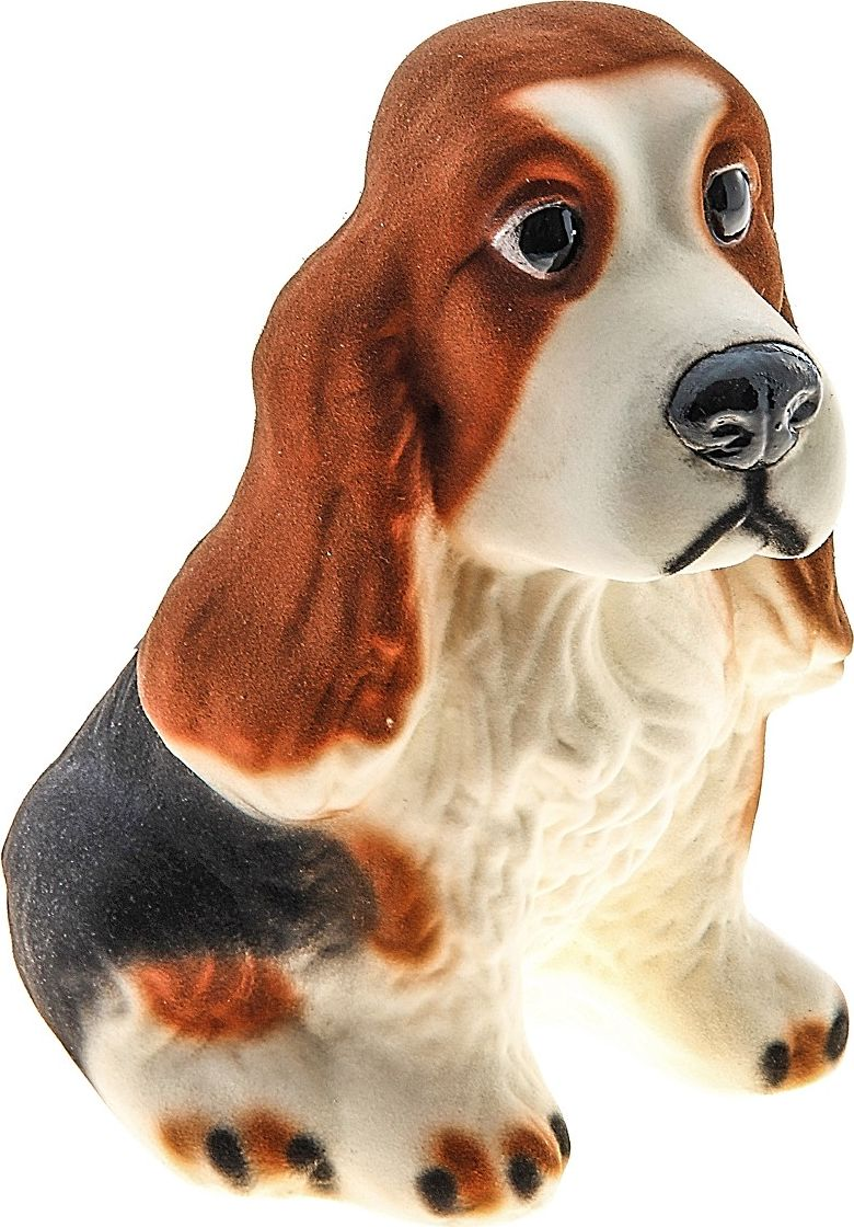 Фото - Копилка Керамика ручной работы Спаниель, 12 х 9 х 20 см копилка керамика ручной работы собака боксер 19 х 14 х 34 см