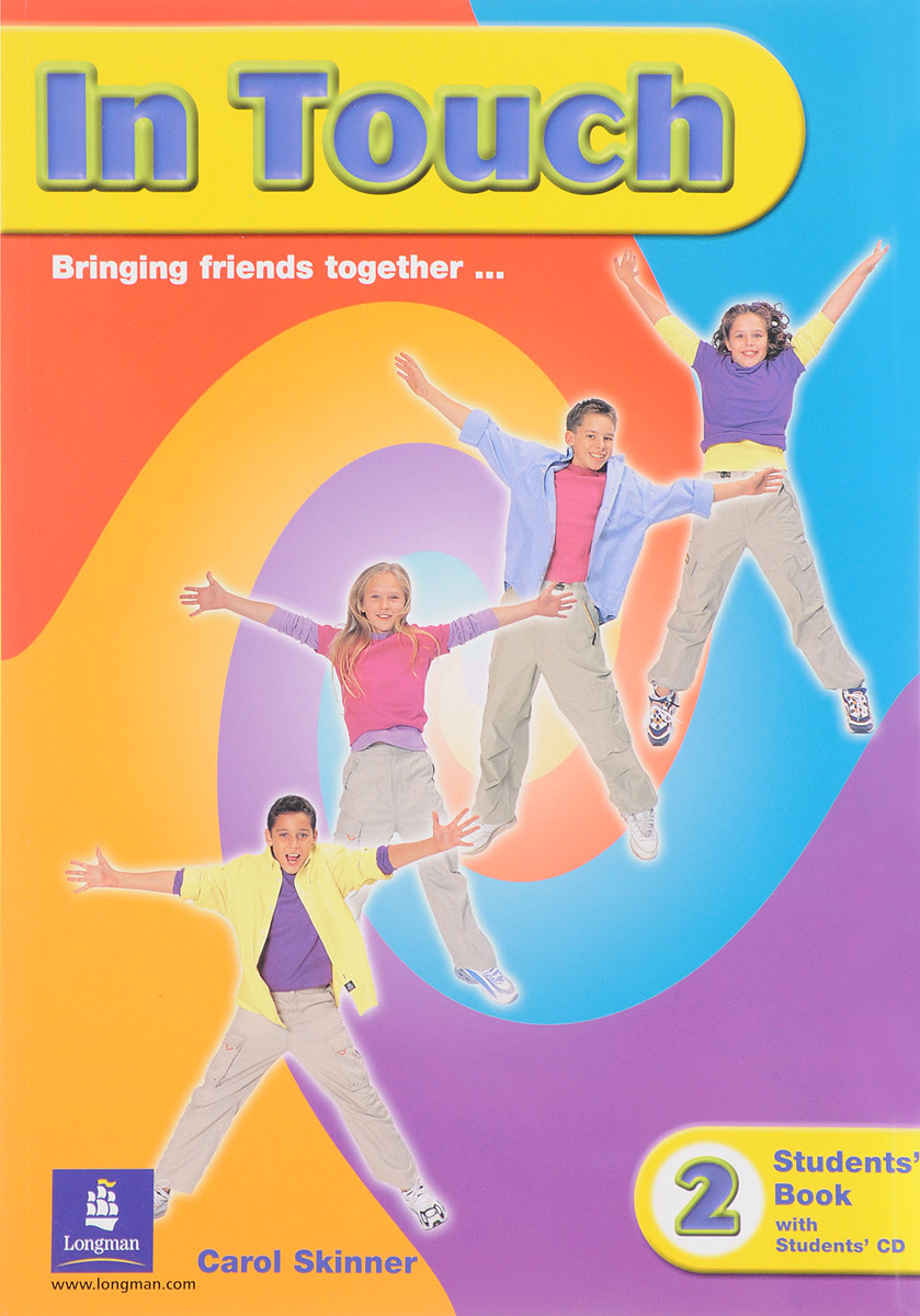 In Touch: Students' Book 2 (+ CD-ROM) new step ahead students book 2 cd rom