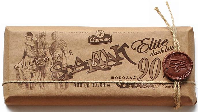 Спартак шоколад горький 90%, 500 г спартак шоколад молочный 500 г