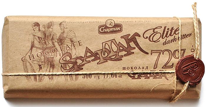 Спартак шоколад горький, 500 г спартак шоколад горький 90% 500 г