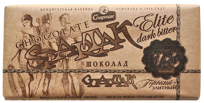 Спартак шоколад горький, 90 г спартак шоколад горький 90% 500 г