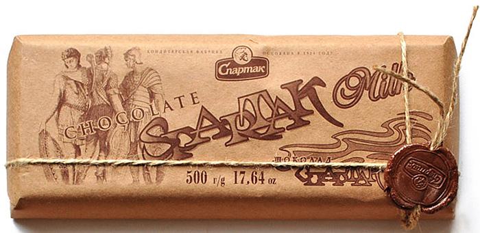 Спартак шоколад молочный, 500 г спартак шоколад молочный 500 г