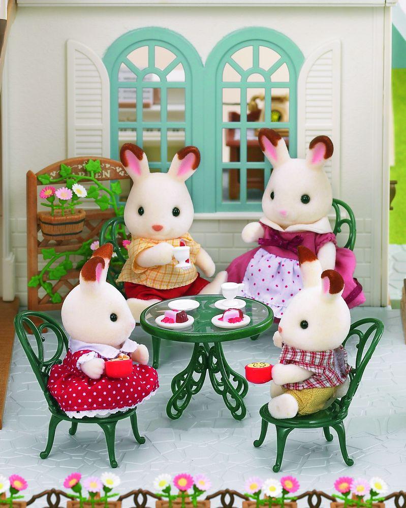 Sylvanian Families Игровой набор Мебель для сада кукольные домики и мебель sylvanian families набор модный бутик