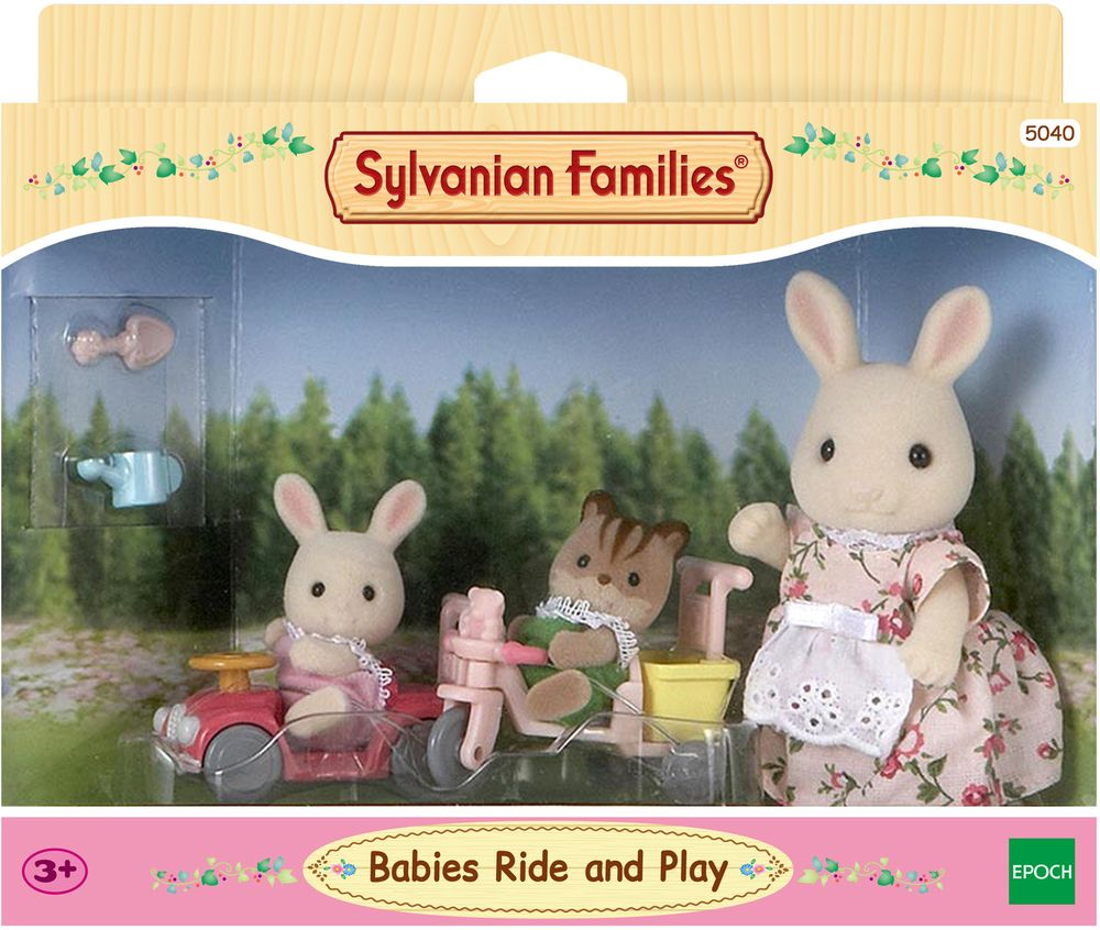 Sylvanian Families Игровой набор Детская прогулка багажник для велосипеда