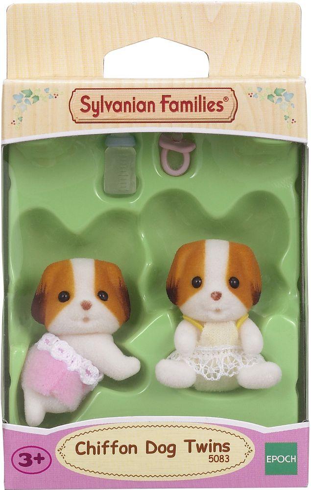 Sylvanian Families Набор фигурок Шифонские щенки-двойняшки sylvanian families набор фигурок лабрадоры двойняшки