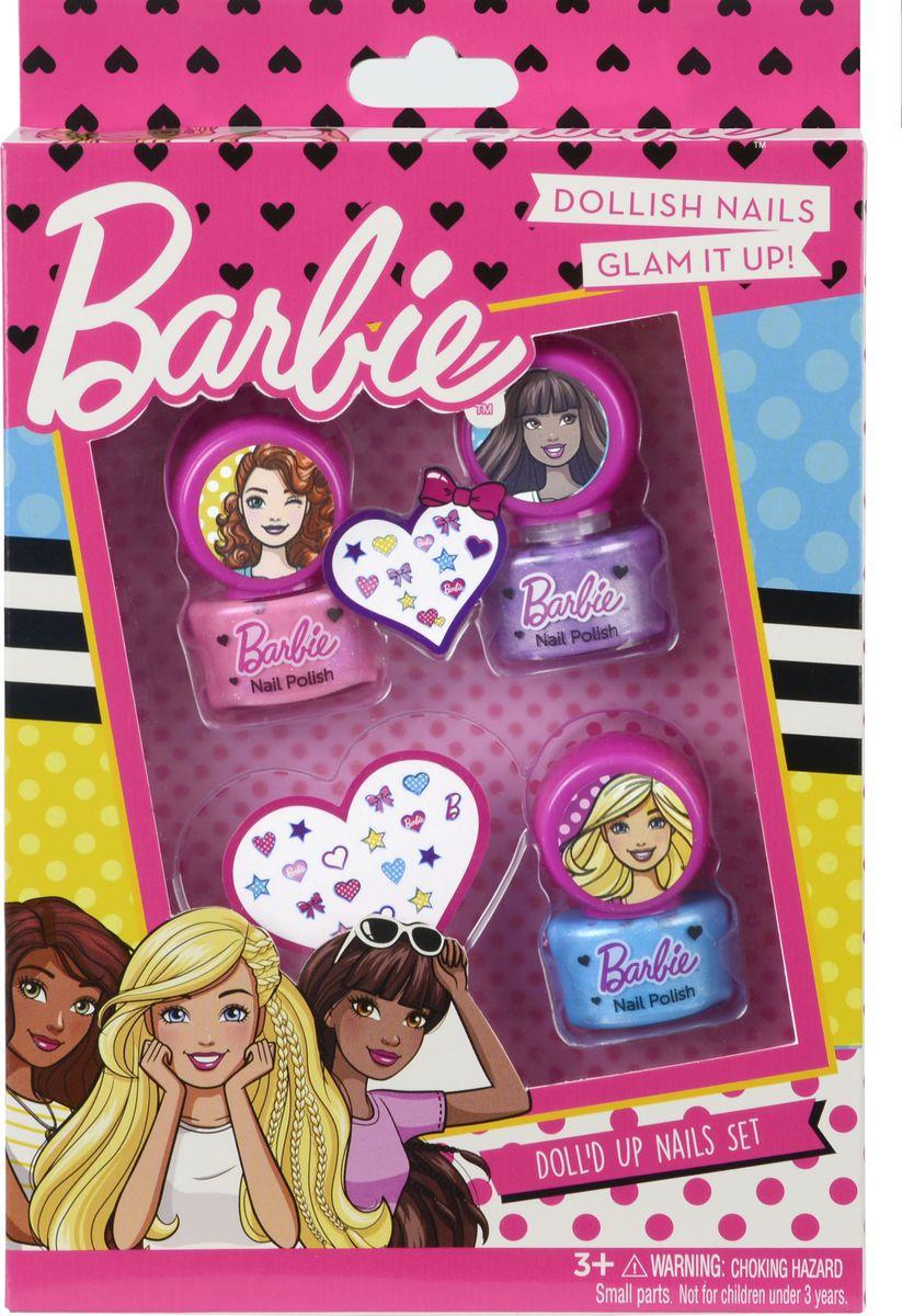 Markwins Игровой набор детской декоративной косметики Barbie 9708351 набор декоративной косметики для ногтей markwins barbie