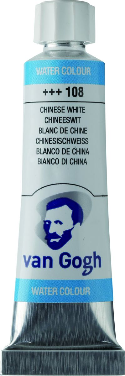 Royal Talens Акварель Van Gogh цвет 108 Белила китайские 10 мл royal talens набор акварельных красок van gogh 12 цветов 20808631