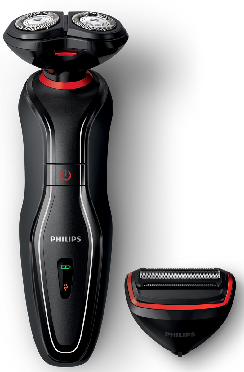 Электробритва Philips Click&Style S728/17 с насадкой-триммером для тела