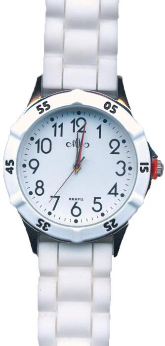 Часы наручные женские Mikhail Moskvin, цвет: белый, золотистый. 612-1-2 все цены