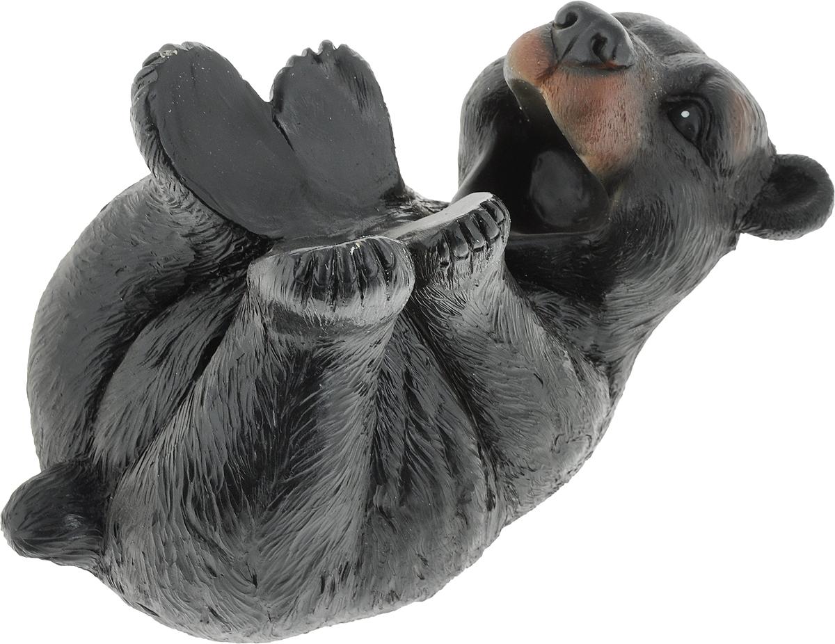 Подставка для вина Drivemotion Медведь лежит на спине и пьет из бутылки, 25 х 15 13 см