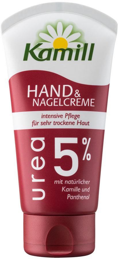 Kamill Крем для рук и ногтей Urea 5%, 75 мл крем для рук для очень сухой кожи интенсивный уход garnier 100 мл